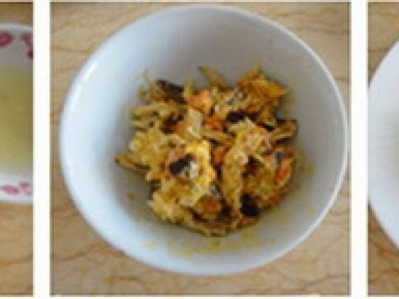 蟹粉烩海参的做法