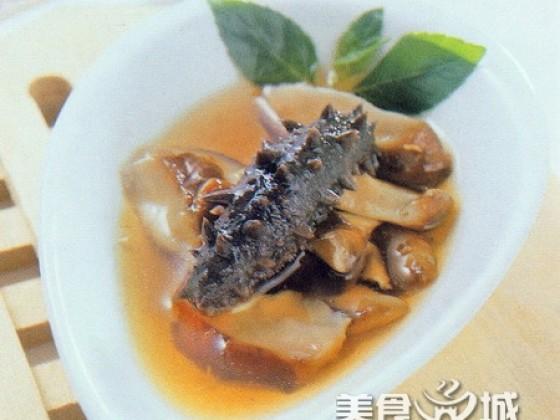猴头菇炖海参的做法