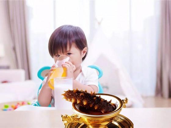儿童吃海参的好处