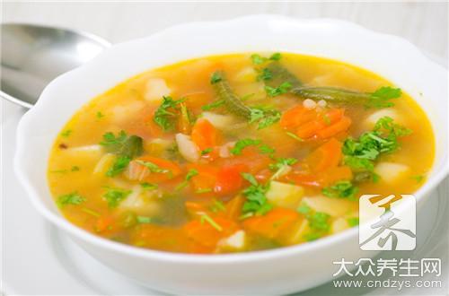 传统三鲜汤