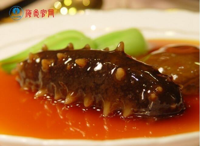 红烧海参斑鱼的做法