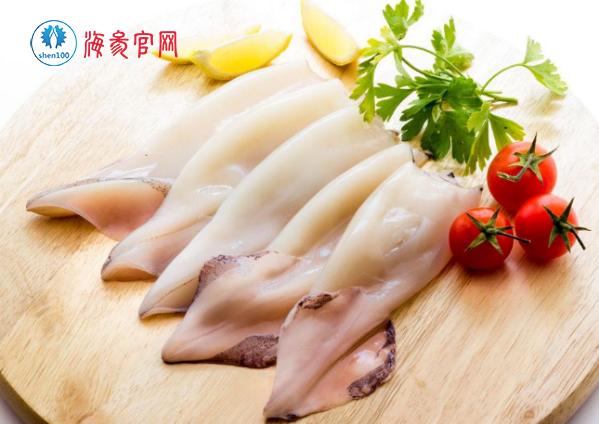 烟台海鲜 新鲜鱿鱼的处理方法
